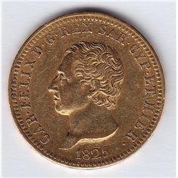 World Coins - Italian States 40 Lire