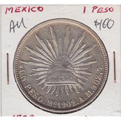 World Coins - Mexico 1 Peso 1902