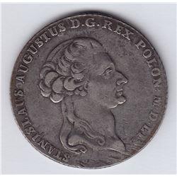 World Coins - Poland 6 Zlotych 1795