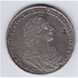 World Coins - Russia Rouble 1724