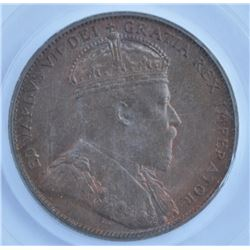 1909 Newfoundland One Cent