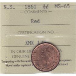 1861 Nova Scotia Half Cent
