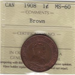 1908 One Cent