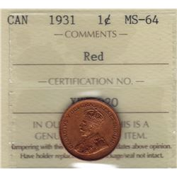 1931 One Cent