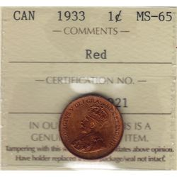 1933 One Cent