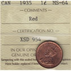 1935 One Cent