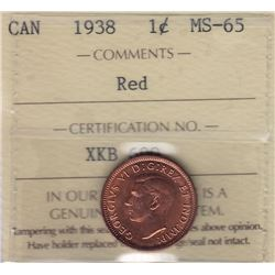 1938 One Cent