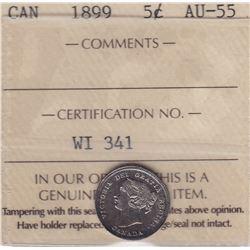 1899 Five Cents