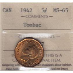 1942 Five Cents