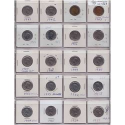 Collection of Five Cents