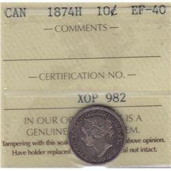 1874H Ten Cents