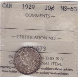 1929 Ten Cents