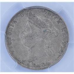 1872H Twenty Five Cents