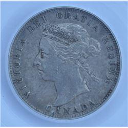 1892 Twenty Five Cents