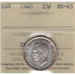 1940 Twenty Five Cents
