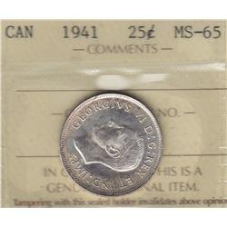 1941 Twenty Five Cents