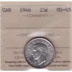 1946 Twenty Five Cents