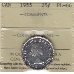 1955 Twenty Five Cents