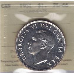 1951 Silver Dollar