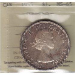1955 Silver Dollar