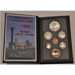 1996 Royal Canadian Mint Proof Set