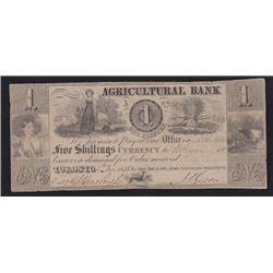 1835 Agricultural Bank One Dollar