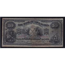 1924 Bank of Nova Scotia Ten Dollars