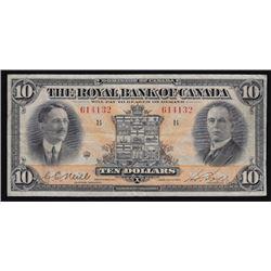 1927 Royal Bank of Canada Ten Dollars