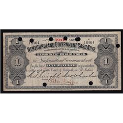 1906 Government One Dollar Cash Note