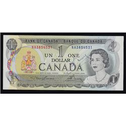 Special Serial Numbers - 1973 Bank of Canada One Dollar Autographed Bouey