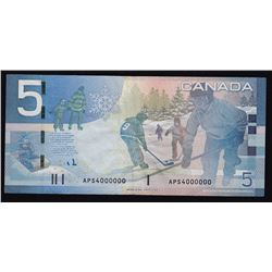 Special Serial Numbers - 2006 Bank of Canada Five Dollars
