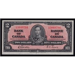 1937 Bank of Canada Two Dollars