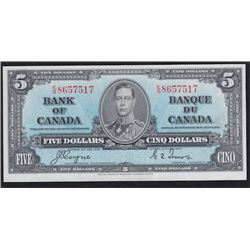 1937 Bank of Canada Five Dollars
