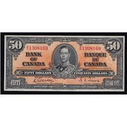 1937 Bank of Canada Fifty Dollars