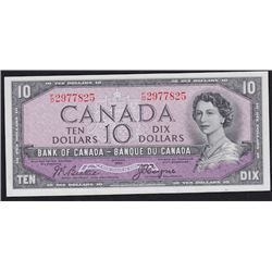 1954 Bank of Canada Ten Dollars Devil's Face