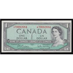 1954 Bank of Canada One Dollar Replacement