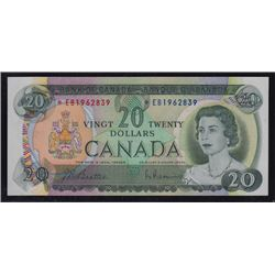 1969 Bank of Canada Twenty Dollars Replacement