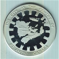 1975 Moncton 100th Anniversary Silver Medal