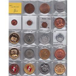 Lot of Twenty Three Centannial Medals