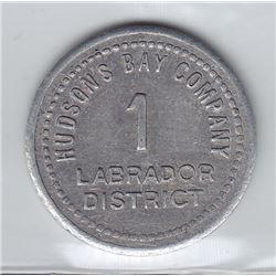 Hudson's Bay Company - Labrador District - 1 Made Beaver