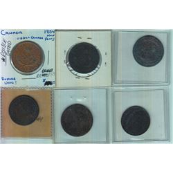Lot of Six Pre-Conferation Tokens
