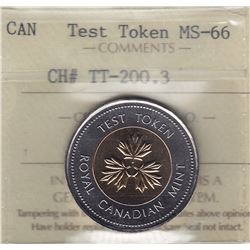 Canadian Two Dollar Test Token