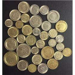 Lot of Thirty Four Gaming Tokens