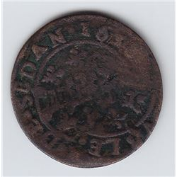 French Regime - Double Tournois 1638.