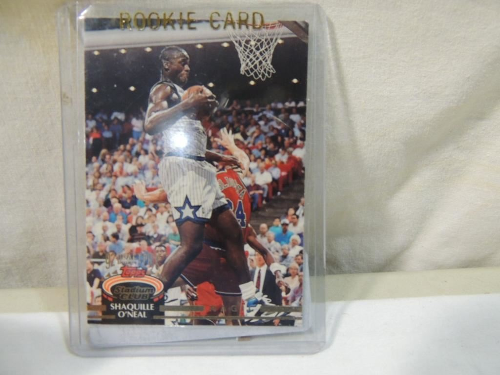 1993 Topps Shaquille Oneal Rookie Card