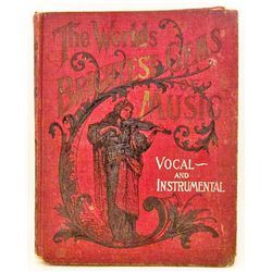 "C. 1900 ""THE WORLDS BRIGHTEST GEMS OF MUSIC"" BOOK"
