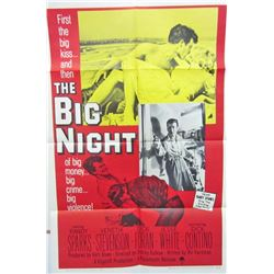 "1951 ""THE BIG NIGHT"" ONE-SHEET MOVIE POSTER"