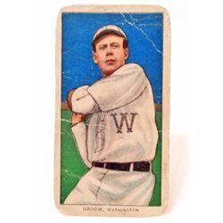 1909-11 T206 SWEET CAPORAL BASEBALL CARD - GROOM, WASHINGTON SENATORS
