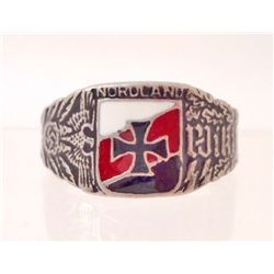 GERMAN NAZI WAFFEN SS VIKING DIVISION RING