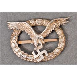 GERMAN NAZI LUFTWAFFE AIR CREW BADGE